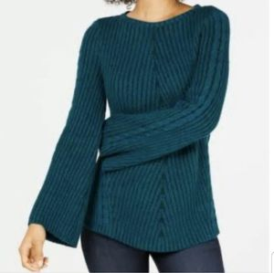 Style & Co Sweater Direct Rib Pullover Sweater
